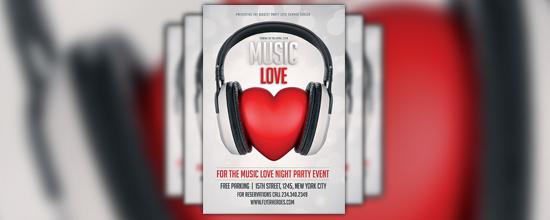 Flyer Music Love