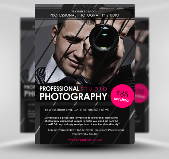 Flyer photographe