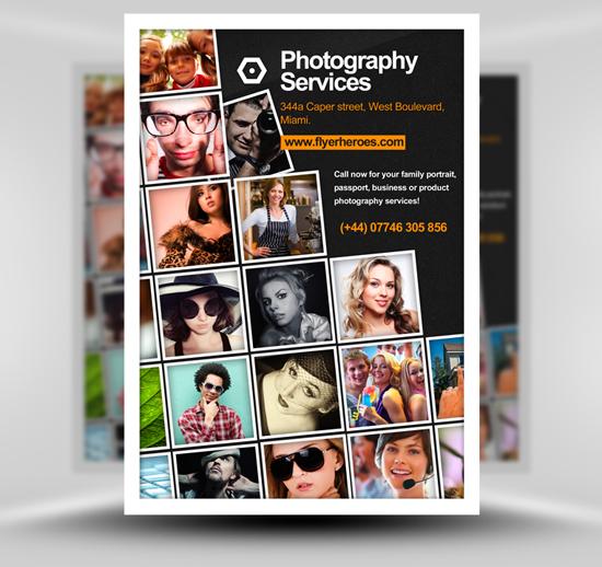 Flyer photographe