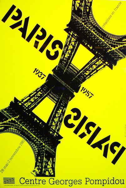 Flyer Paris 1937 – 1957