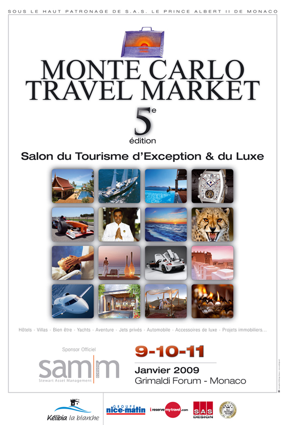 Flyer Monte Carlo Travel Market