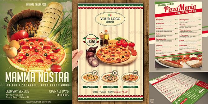Pizzeria et pizzaiolo : les bests practices pour vos flyers