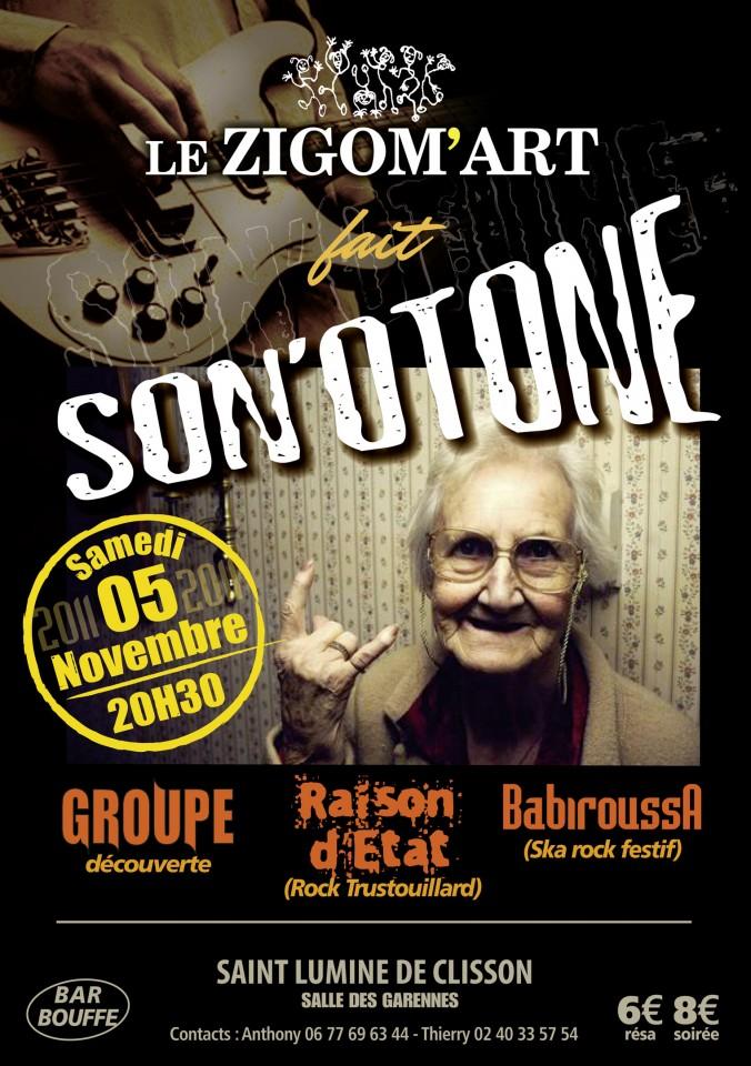 Flyer Son'Otone