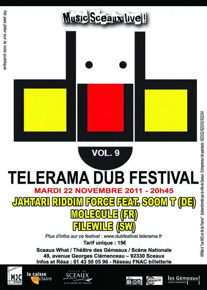 exemple de flyers telerama dub festival flyer flyers d di l 39 impression de flyers. Black Bedroom Furniture Sets. Home Design Ideas
