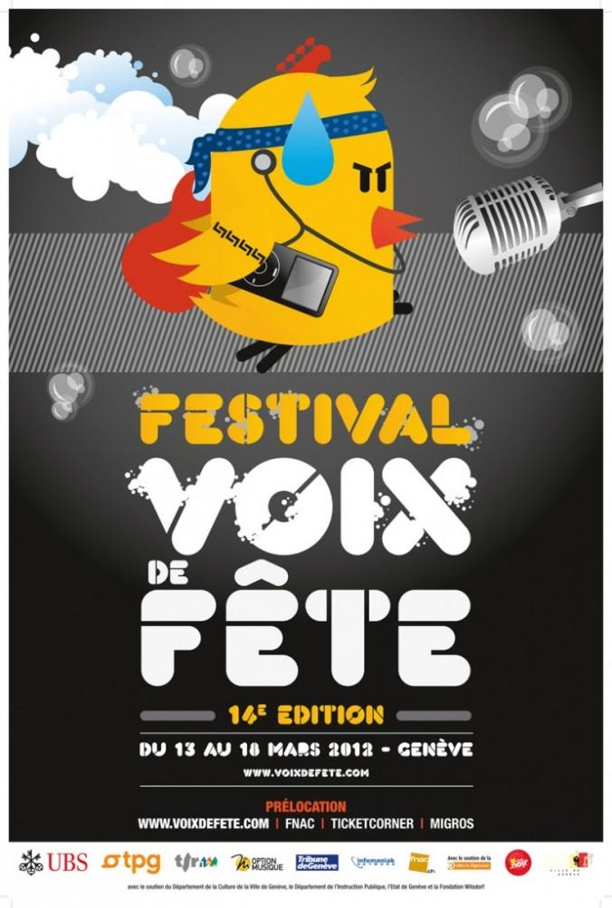Flyer Festival Voix de Fete