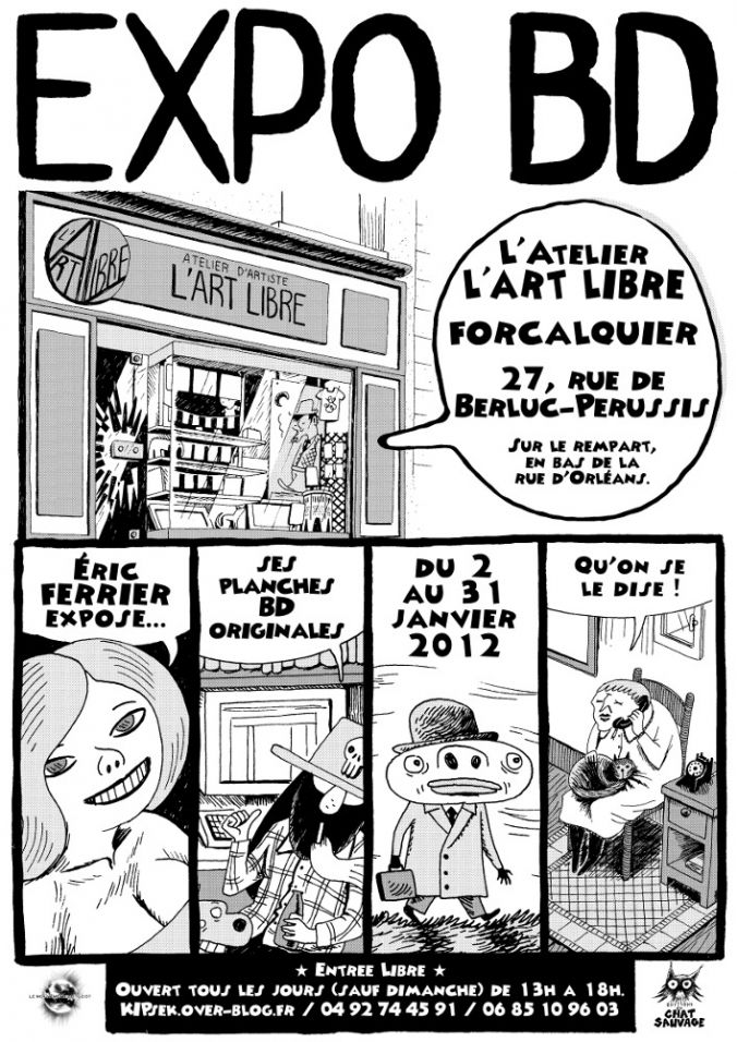 Flyer Exposition BD