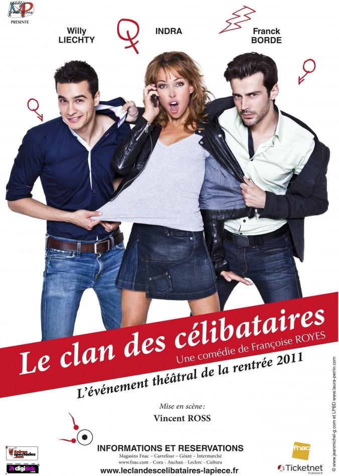 Flyer Les clan des célibataires