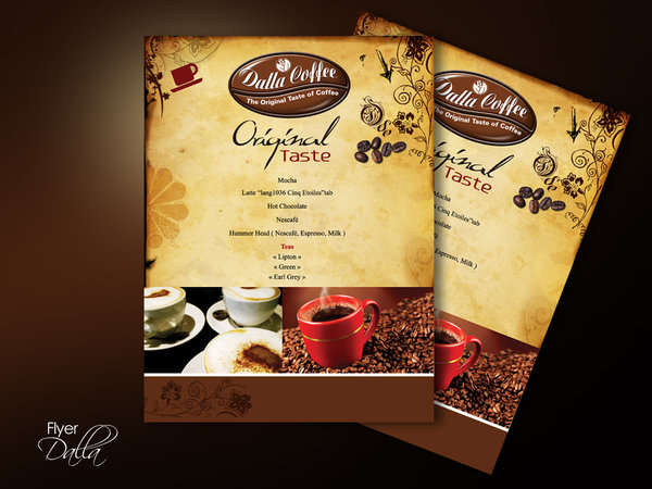 Flyer Dalla Coffee