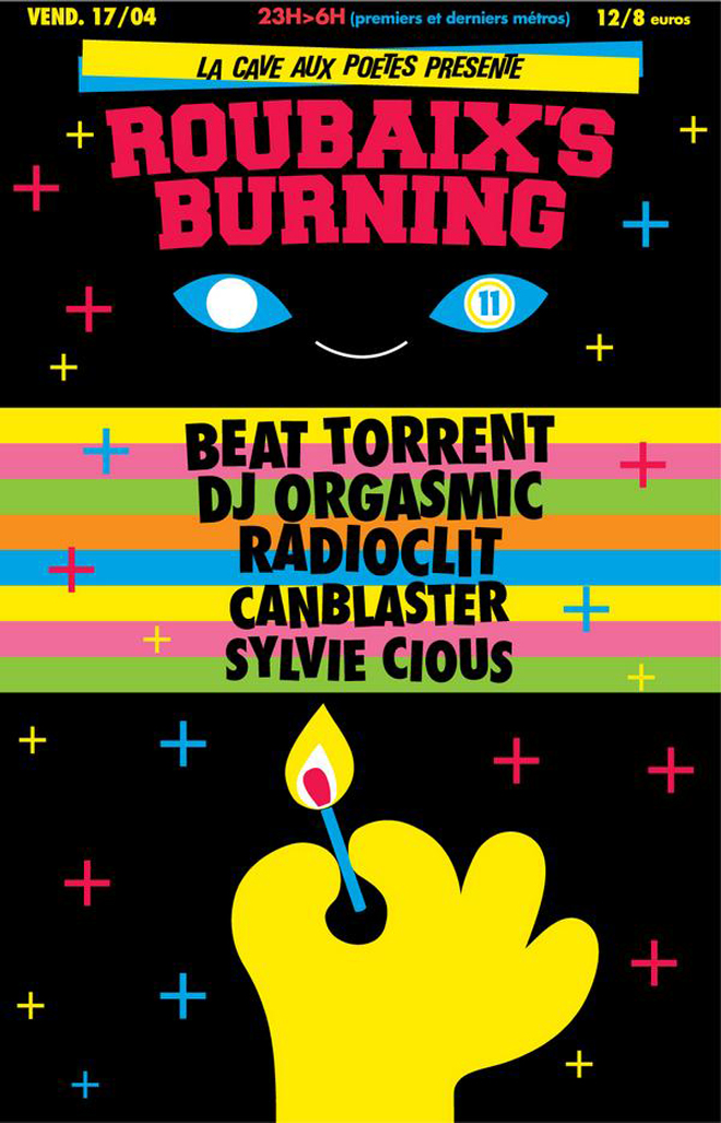 Flyer Roubaix Burning
