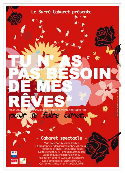 Flyer Le barré Cabaret