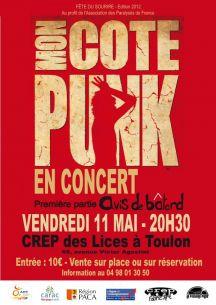 Concert Mon Côté Punk à Toulon