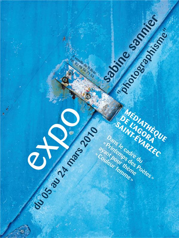 Flyer Expo Sabine Sannier