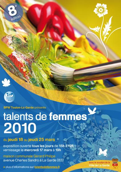 Flyer Talents de femmes