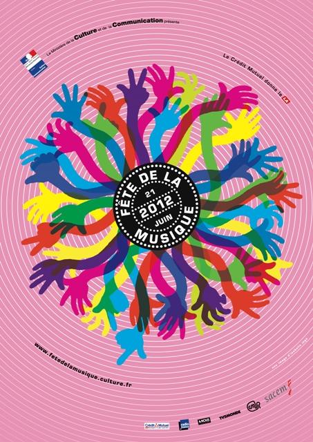 Flyer Fete de la musique 2012