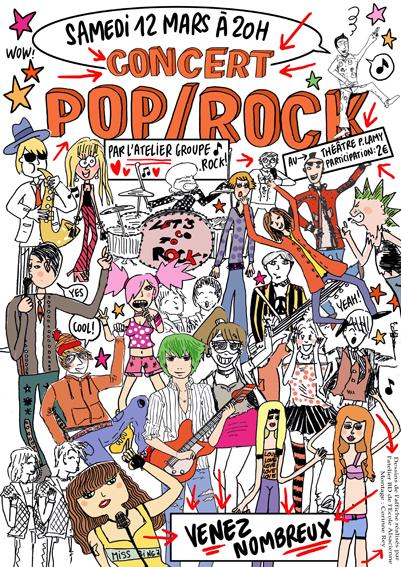 Flyer Concert Pop / Rock