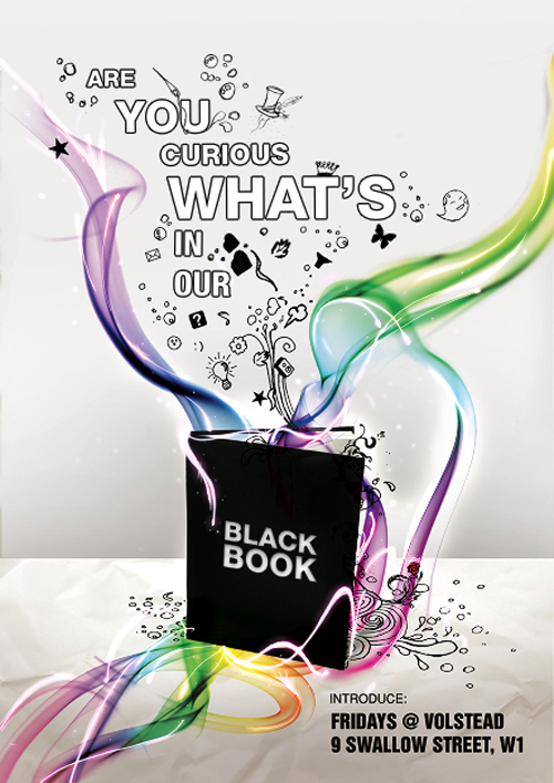 Flyer Are you curious what's in our black book?