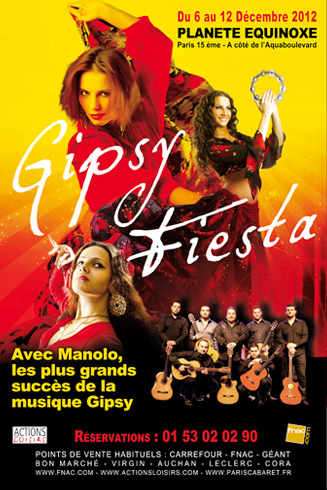 Flyer Affiche Gipsy Fiesta