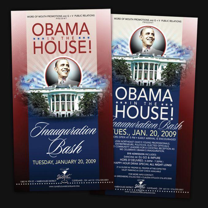 Flyer Obama