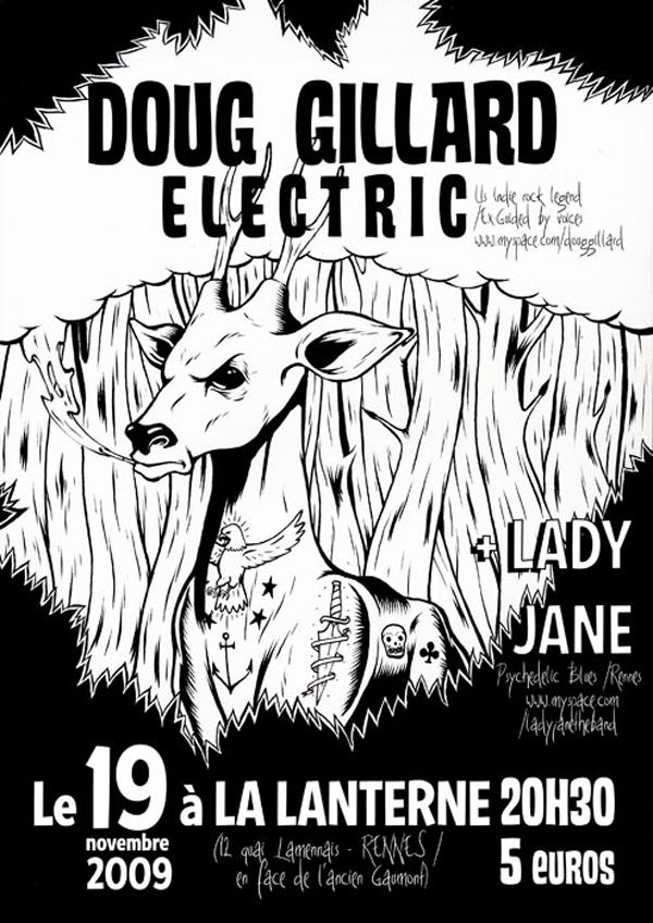 Flyer Doug Gillard Eletric