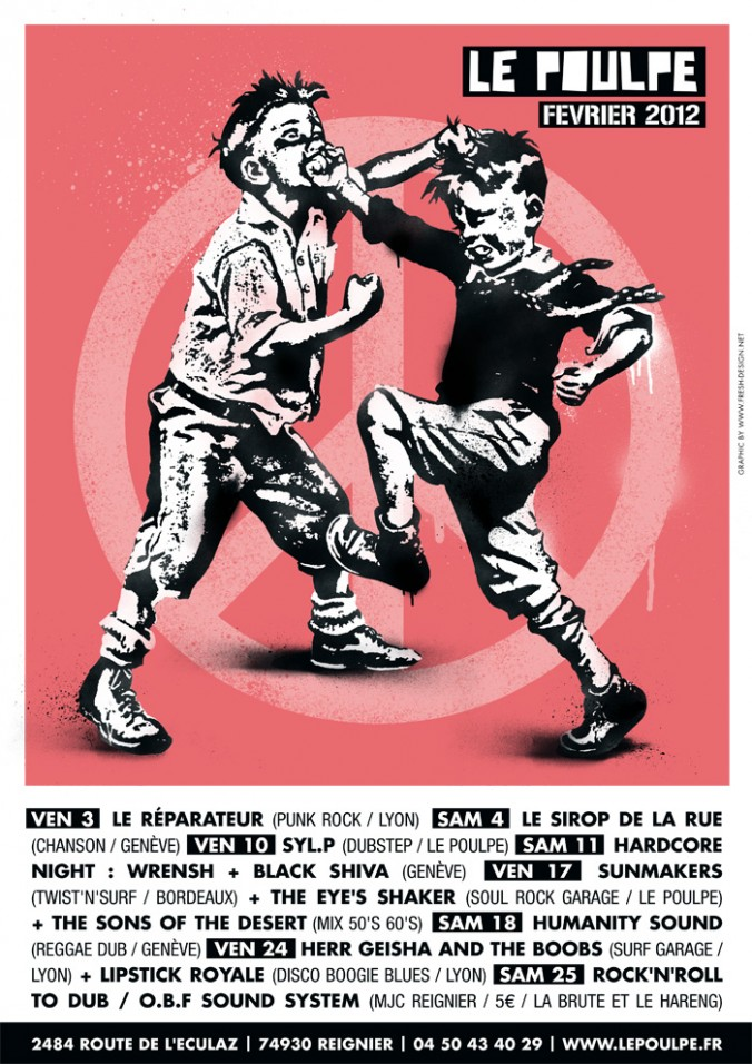 Flyer Le Poulpe – Février  2012