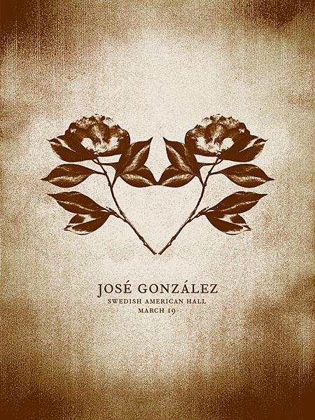 Flyer José Gonzalez