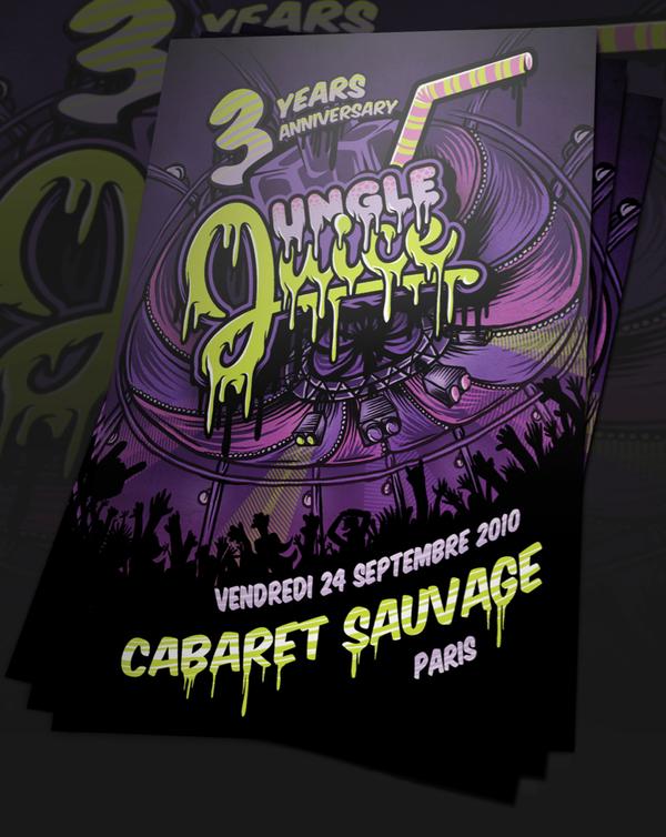 Flyer Jungle Juice Anniversary