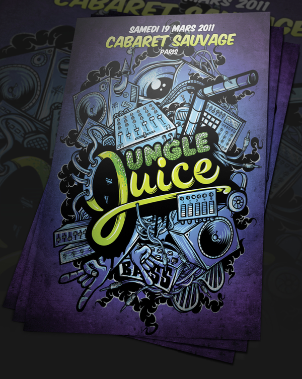 Flyer Jungle Juice