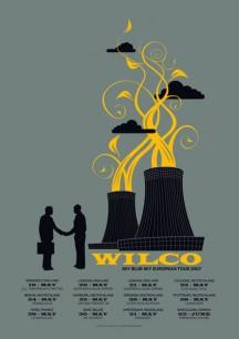 Wilco, sky blue eruopean tour 2007