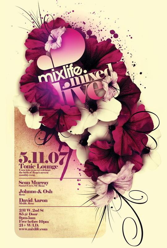 Flyer Mixlife