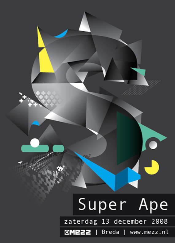 Flyer Super Ape