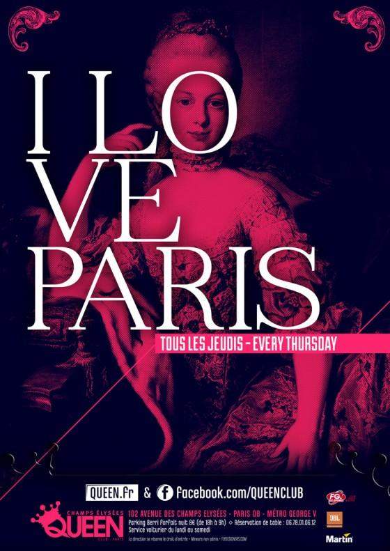 Flyer I love Paris