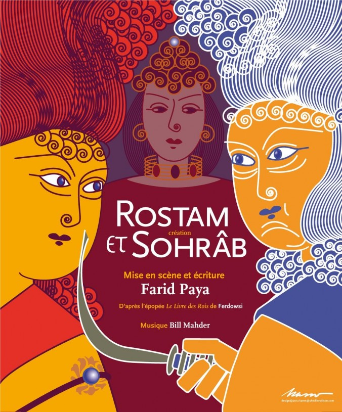 Flyer Rostam et Sohrab