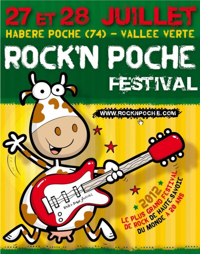 Flyer Rock'n Poche Festival