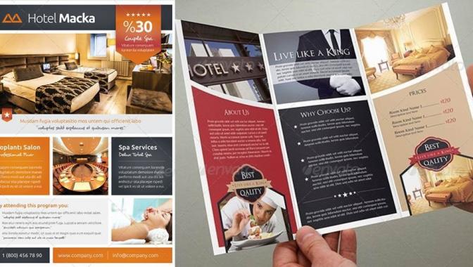 Analyse de flyers h tels quelles informations y trouver for Trouver des hotels