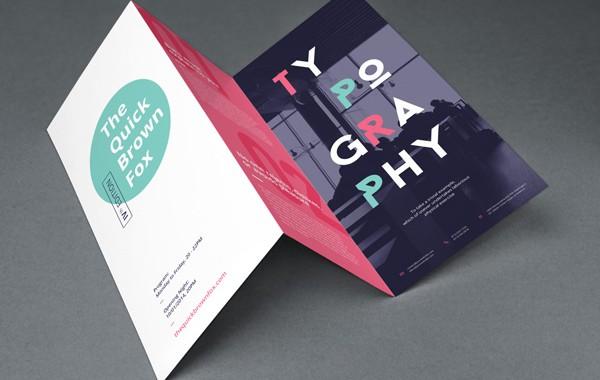 Flyer, chaque caractéristique son message : 1, 2 ou 3 volets ?